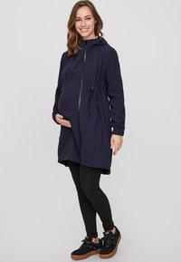 MAMALICIOUS - MLSHELLA 3IN1 TIKKA  - Short coat - navy blazer - 1
