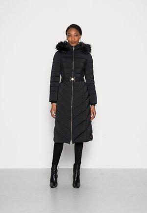 CATERINA JACKET - Kabát zprachového peří - black