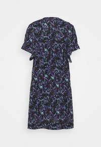 Iro - BAGO DRESS - Denní šaty - black/multicolored - 7