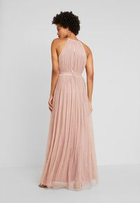 Anaya with love - DELICATE HALTER NECK WAISTBAND DRESS - Ballkjole - pearl blush - 3