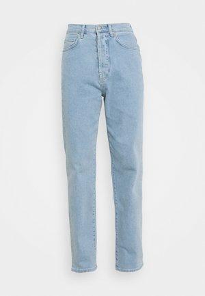HIGH WAIST - Relaxed fit jeans - light blue