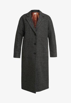 HARLEM COAT - Zimní kabát - black/grey