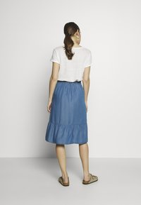 Culture - CUMINDY SKIRT - Áčková sukně - blue wash - 2