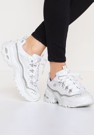 D'LITES - Trainers - white/silver