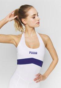 Puma - NEON BRIGHTS ACTIVE BODYSUIT - cvičební overal - white - 3
