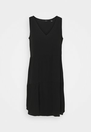 VMOLIVIA PEPLUM DRESS - Vestido informal - black