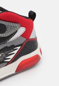 Geox - INEK BOY - High-top trainers - grey/red - 5