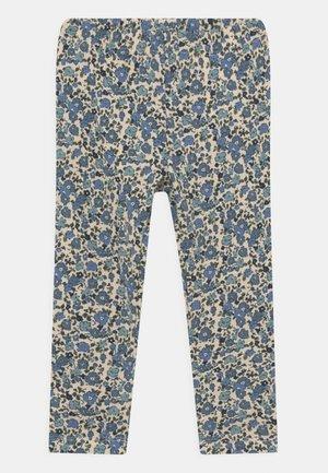 NMFRANDY - Leggings - white/blue