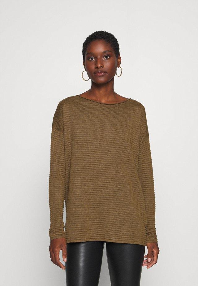 SC-NIAKA 4 - Pullover - dark caramel melange