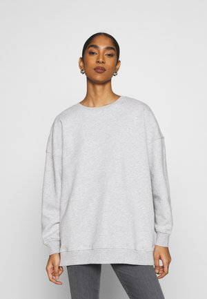 ONYFAVE LIFE O-NECK OVERSIZED  - Collegepaita - light grey melange