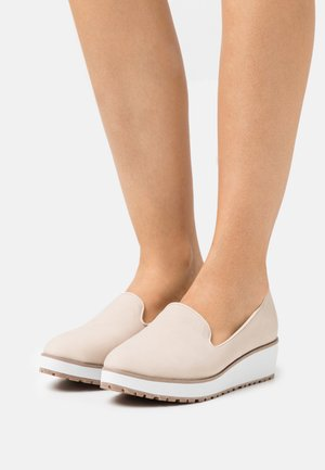 BRIA - Loaferit/pistokkaat - beige