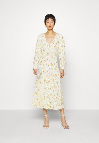 Ghost - DRESS - Cocktail dress / Party dress - yellow - 1