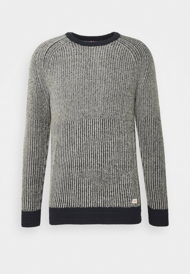 CHUNKY - Jumper - navy/grey