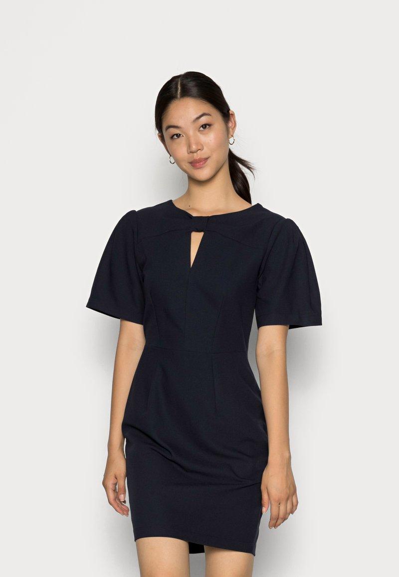 Closet - CLOSET KNOT DETAIL DRESS - Day dress - navy