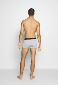 Lacoste - 3 PACK - Shorty - black/pitch chine-silver chine - 3
