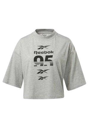 MYT GRAPHIC T-SHIRT - Print T-shirt - grey