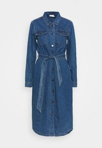 Kaffe - KEISHA DRESS - Denim dress - denim blue - 0