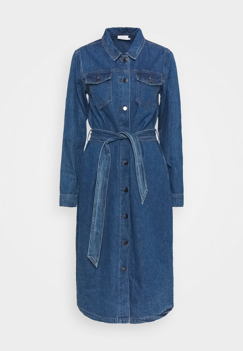 Kaffe - KEISHA DRESS - Denim dress - denim blue