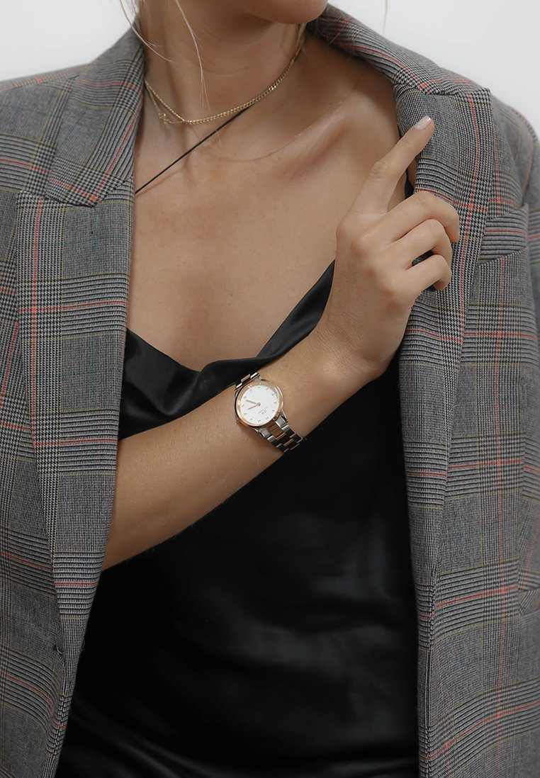 Daniel Wellington - Iconic Link Lumine – 28mm - Orologio - rose gold
