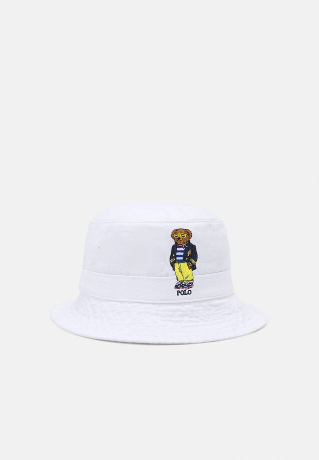 NEW BOND BUCKET HAT UNISEX - Sombrero - white