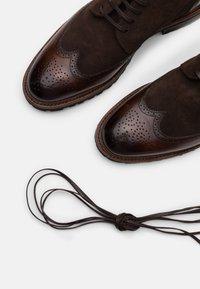 Cordwainer - Lace-up ankle boots - capri espresso / venecia testa - 4