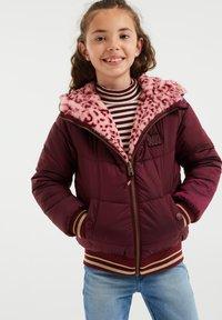 WE Fashion - Light jacket - burgundy red - 1