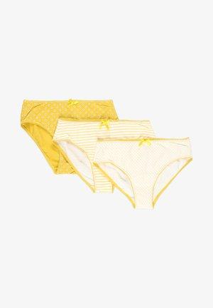 3 PACK - Kalhotky - mimosa