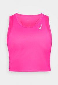 Nike Performance - RACE CROP - Top - hyper pink/silver - 5
