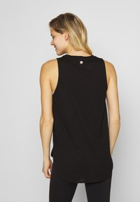 Cotton On Body - MATERNITY ACTIVE CURVE TANK - Top - black - 2