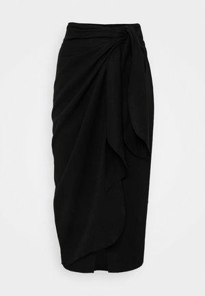 SKIRT - Pencil skirt - schwarz