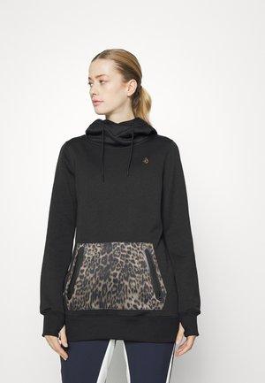 SPRING SHRED HOODY - Sweatshirt - black