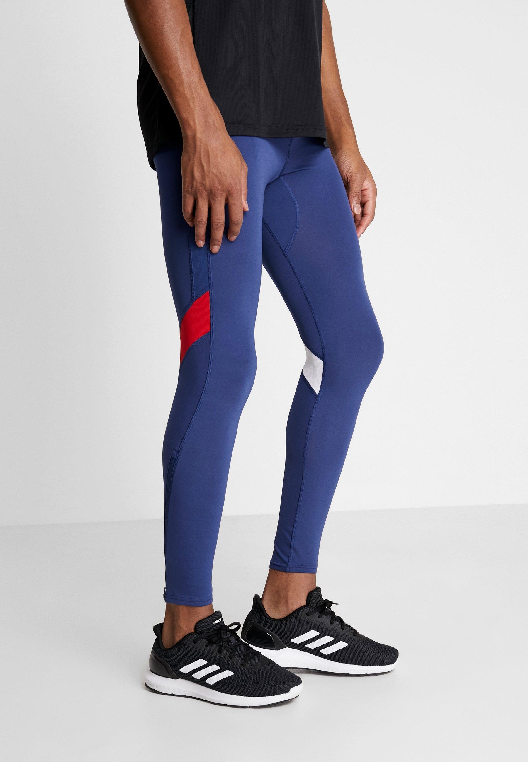 Official Men's Clothing adidas Performance Leggings dark blue EEH3fVaLy