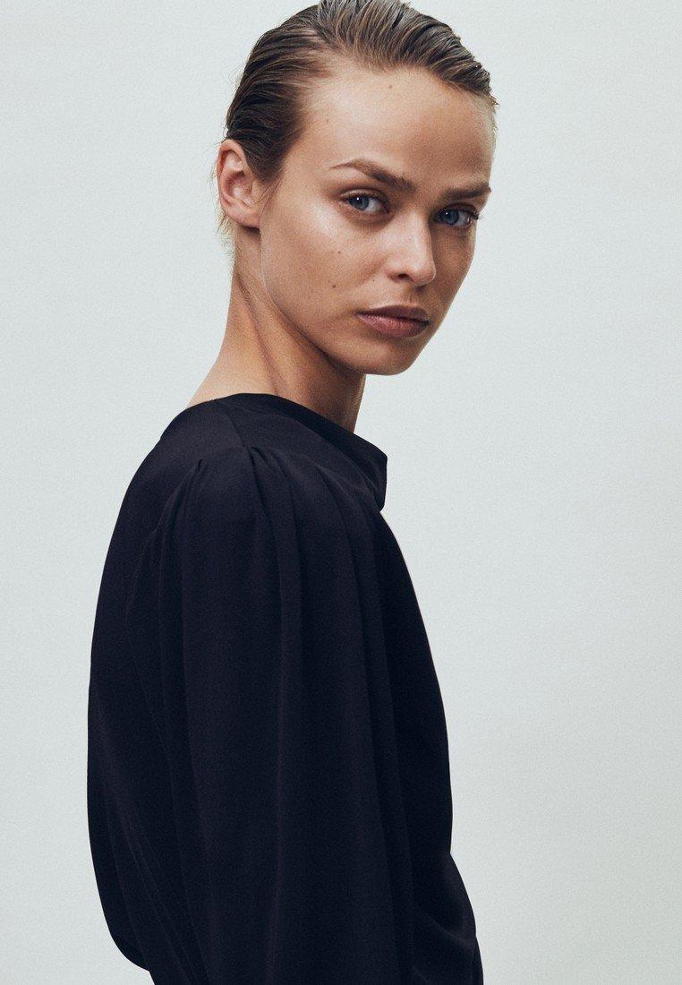 Massimo Dutti T-shirt à manches longues - black - Tops & T-shirts Femme p3HAI
