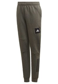 adidas Performance - MUST HAVES - Tracksuit bottoms - brown - 1
