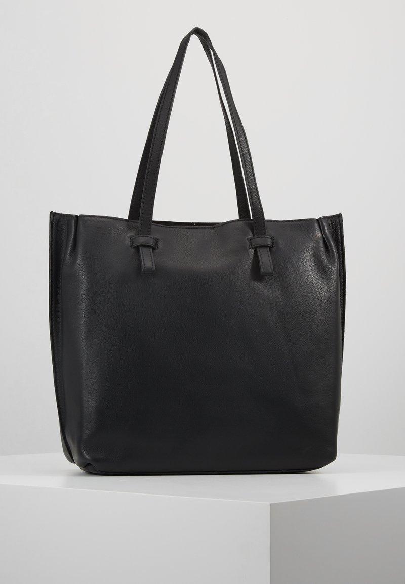 mint&berry - LEATHER - Velká kabelka - black