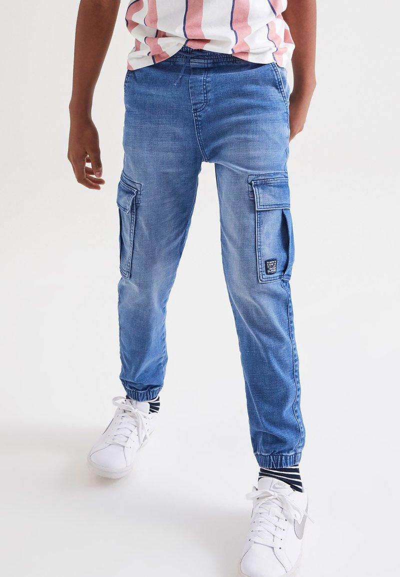 Next - Relaxed fit jeans - light-blue denim