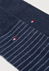 Tommy Hilfiger - SMALL STRIPE SOCK 2 PACK - Calze - blue - 1