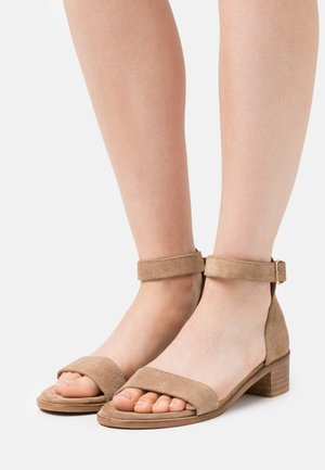 ENZO - Sandals - taupe