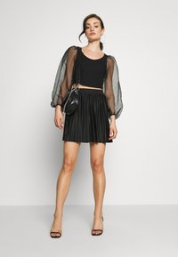 Even&Odd - A-line skirt - black - 1
