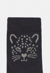 Ewers - DOTS STRIPES LION 6 PACK - Socks - kupfer/off-white - 2