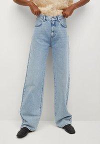 Mango - URBAN - Straight leg jeans - mittelblau - 0