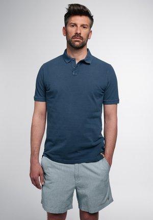 Poloshirt - petrolblau