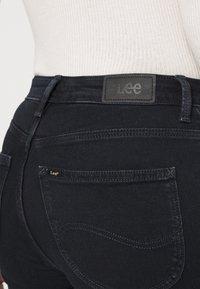 Lee - SCARLETT HIGH ZIP - Jeans Skinny Fit - dark icon - 4