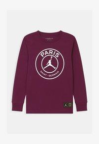 Jordan - PSG LOGO MIRRORED - Club wear - bordeaux - 0