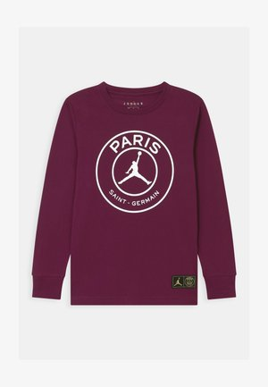 PSG LOGO MIRRORED - Club wear - bordeaux