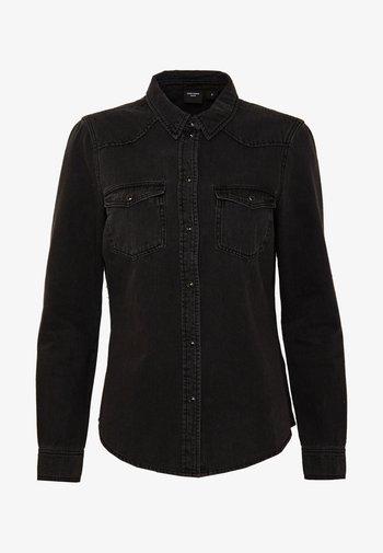 VMMARIA SLIM  - Skjorte - black