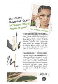 Sante - EYES SET - Makeup set - black + black - 4