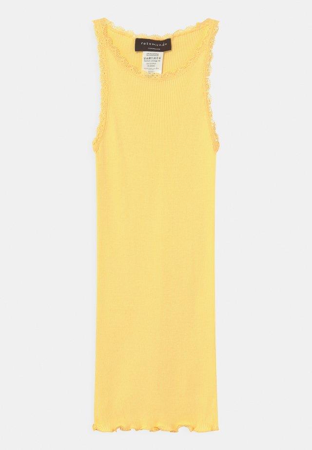 ORGANIC - Top - vanilla yellow