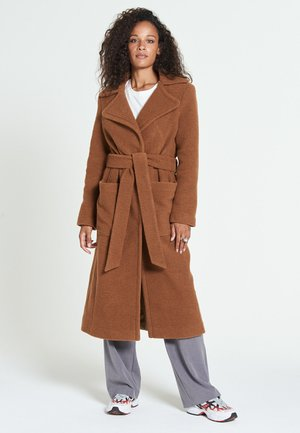 ESTHER - Classic coat - rust