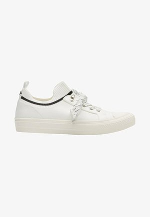 Trainers - white knitted